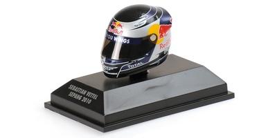"Casco Arai ""GP. Malasia"" Sebastian Vettel (2010) Minichamps 1:8"