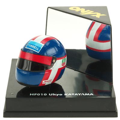 Casco F1 Ukyo Katayama Onyx 1/12