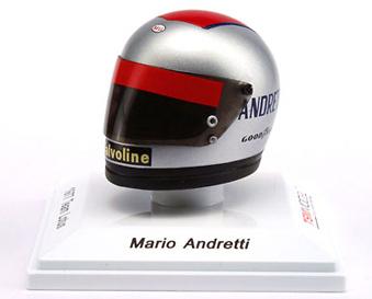 Casco Mario Andretti Team Lotus (1977) True Scale Models 1/8