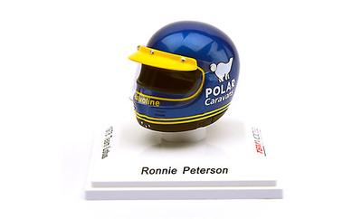 "Casco Ronnie Peterson ""Team Lotus"" (1978) True Scale Models 1/8"