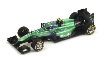 "Caterham CT05 ""GP. Abu Dhabi"" nº 46 Will Stevens (2014) Spark S3145 1:43"