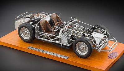 Chasis Maserati 300S (1956) CMC 1:18