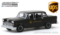 "Checker Taxicab Parcel Delivery ""UPS"" (1975) Greenlight 1/64"