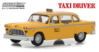 "Checker Taxicab ""Taxi Driver - Travis Bickle's"" (1975) Greenlight 1/43"