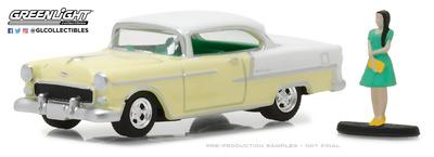 Chevrolet Bel Air con figura (1955) Greenlight 1/64