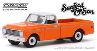 Chevrolet C-10 (1971) - Sanford and Son (1972-77 TV Series) Greenlight 1/64