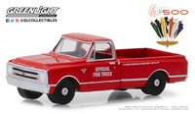 """Chevrolet C10 51 edición de Indianapolis """"Carrera de las 500 millas"""" (1967) Greenlight 1/64"""