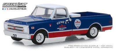 "Chevrolet C10 ""Chevron"" (1968) Greenlight 1/64"