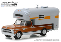 Chevrolet C10 Cheyenne Camper (1970) Greenlight 1/64