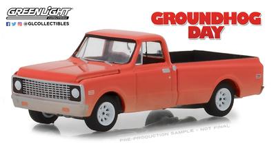 """Chevrolet C10 """"Día de la Marmota"""" (1971) Greenlight 1/64"""