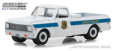 Chevrolet C10 Delaware State Police (1972) Greenlight 1/64