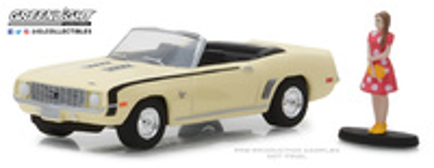 Chevrolet Camaro Convertible con Figura (1969) Greenlight 1/64