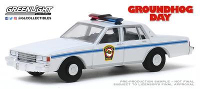 "Chevrolet Caprice Police ""Dia de la marmota"" (1980) Greenlight 1/64"