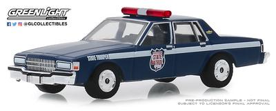 Chevrolet Caprice - Wisconsin State Patrol 80 Aniversario (1989) Greenlight 1/64