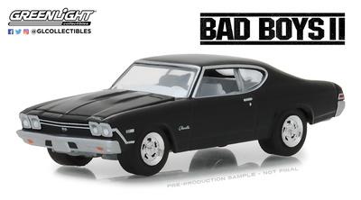 "Chevrolet Chevelle SS ""Bad Boys 2"" (1968) Greenlight 1/64"