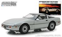 "Chevrolet Corvette C4 ""Vintage Ad Cars"" (1984) Greenlight 1/18"