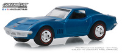Chevrolet Corvette L88 - Lote 1418 (1968) Greenlight 1/64