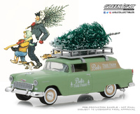 "Chevrolet Delivery ""Bob's Tree Farme"" (1955) Greenlight 1/64"