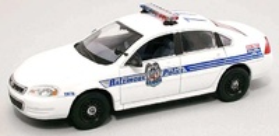 "Chevrolet Impala ""Baltimore Police"" FRR 175711 1:43"