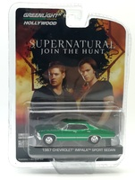 "Chevrolet Impala Sedan ""Supernatural"" (1967) Green Machine 1/64"