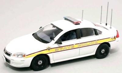 "Chevrolet Impala Serie IX ""Illinois State Police"" (2006) FRR 175712 1/43"