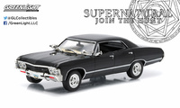 "Chevrolet Impala Sport Sedán ""Supernatural"" (1967) Greenlight 1/43"