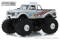 "Chevrolet K-10 Monster Truck ""USA 1"" (1970) 66"" pulgadas Greenlight 1/43"
