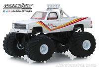Chevrolet K20 Silverado Monster Truck Southern Sunshine (1981) Greenlight 1/64