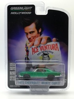 "Chevrolet Montecarlo (1972) ""Ace Ventura - Pet Detective"" (1994) Green Machine 1/64"