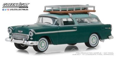 Chevrolet Nomad con baca (1955) Greenlight 1/64