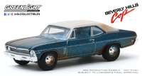 "Chevrolet Nova ""Superdetective en Hollywood"" (1970) Greenlight 1/64"