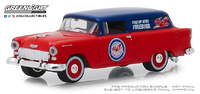 "Chevrolet One Fifty furgoneta ""Pure Oil"" (1955) Greenlight 1/64"