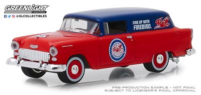 "Chevrolet One Fifty furgoneta ""Pure Oil"" (1955) Greenlight 1/64"