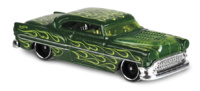 Chevy Custom -Flames- (1953) Hot Wheels 1/64