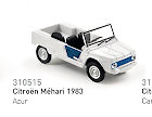 "Citroën Méhari ""Azur"" (1983) Norev 1/64"
