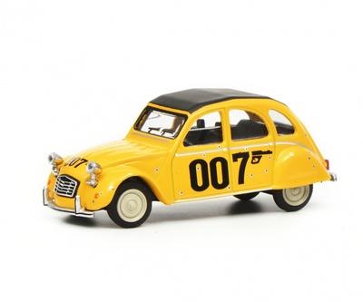 """Citroen 2CV """"007"""" (1981) Schuco 1/64"""