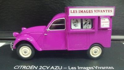 "Citroen 2CV AZU special ""Les Images Vivantes"" (1958) Eligor 1/43"