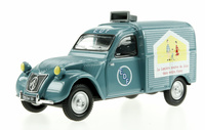 """Citroen 2CV """"EDF"""" (1955) Eligor 1/43"""