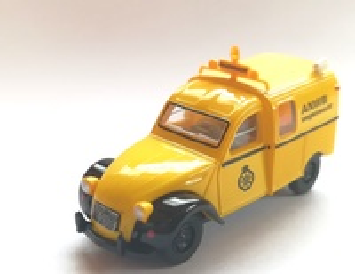 "Citroen 2CV Furgoneta ""ANWB"" (1970) Brekina 1/87"