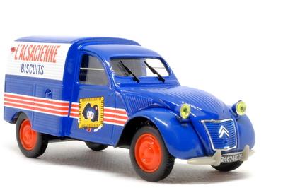 Citroen 2CV Furgoneta Alsacienne (1958) Norev-Hachette 1/43