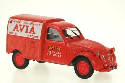 """Citroen 2CV Furgoneta """"Avia"""" (1956) Norev-Hachette 1/43"""