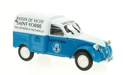 "Citroen 2CV Furgoneta ""Basin Vichy"" Norev-Hachette 1/43"