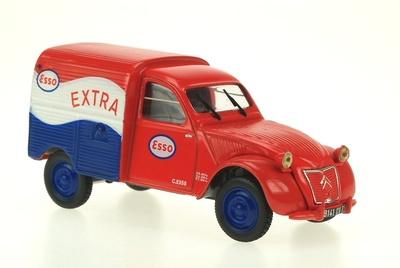 "Citroen 2CV Furgoneta ""Esso"" (1954) Norev-Hachette 1/43"