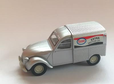 "Citroen 2CV Furgoneta ""Esso"" (1970) Brekina 1/87"