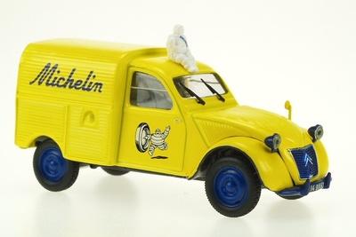 "Citroen 2CV Furgoneta ""Michelin"" (1954) Norev-Hachette 1/43"