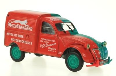 """Citroen 2CV Furgoneta """"Motostandard"""" (1958) Norev-Hachette 1/43"""