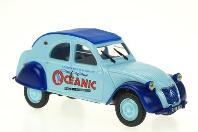 """Citroen 2CV """"Oceanic"""" (1955) Norev-Hachette 1/43"""