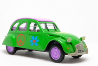 Citroen 2CV Peace and Love (1969) Norev-Hachette 1/43