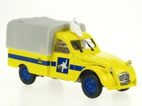 "Citroen 2CV Pick-up ""Michelin"" (1964) Norev-Hachette 1/43"