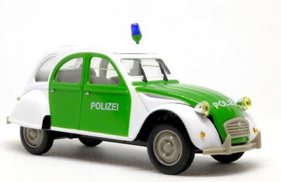 Citroen 2CV Polizei (1986) Norev-Hachette 1/43